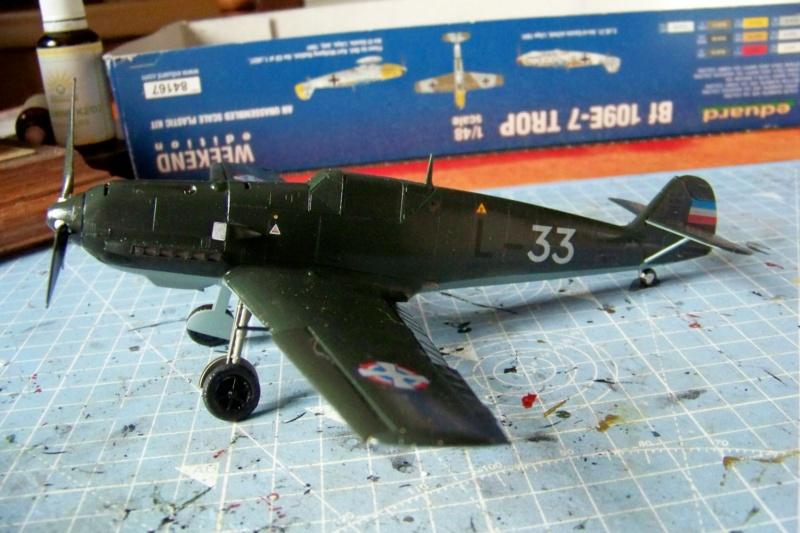 sur l' établi Bf 109 E3a 1/48 Eduard  Fini - Page 4 100_8482