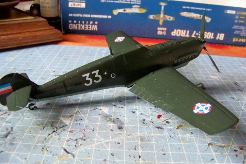 sur l' établi Bf 109 E3a 1/48 Eduard  Fini - Page 4 100_8484