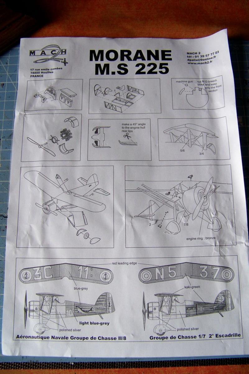 Morane Saulnier MS-225 3C1 ( MACH 1/48) 100_8487