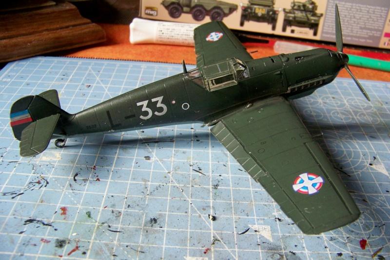 sur l' établi Bf 109 E3a 1/48 Eduard  Fini - Page 4 100_8496