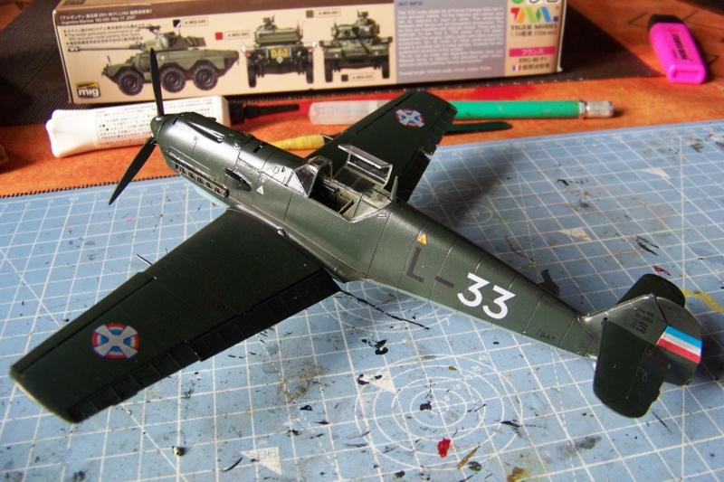 sur l' établi Bf 109 E3a 1/48 Eduard  Fini - Page 4 100_8497