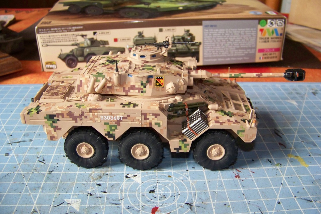 ERC 90 Lynx 1/35 Tiger Model FINI - Page 2 100_8525