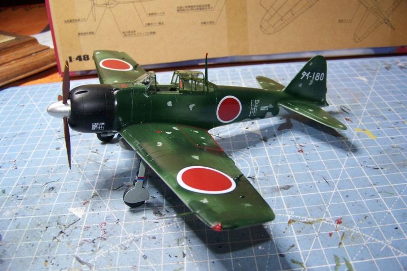A6M3 Reisen type 32 Hamp ( ZERO) 1/48 Hasegawa Fini - Page 2 100_8566
