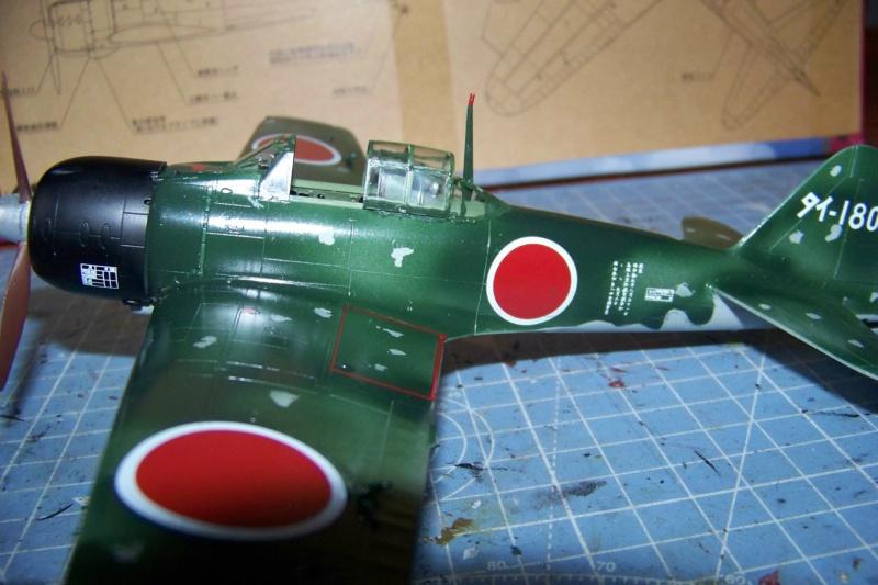 A6M3 Reisen type 32 Hamp ( ZERO) 1/48 Hasegawa Fini - Page 2 100_8568