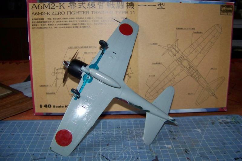 A6M3 Reisen type 32 Hamp ( ZERO) 1/48 Hasegawa Fini - Page 2 100_8569