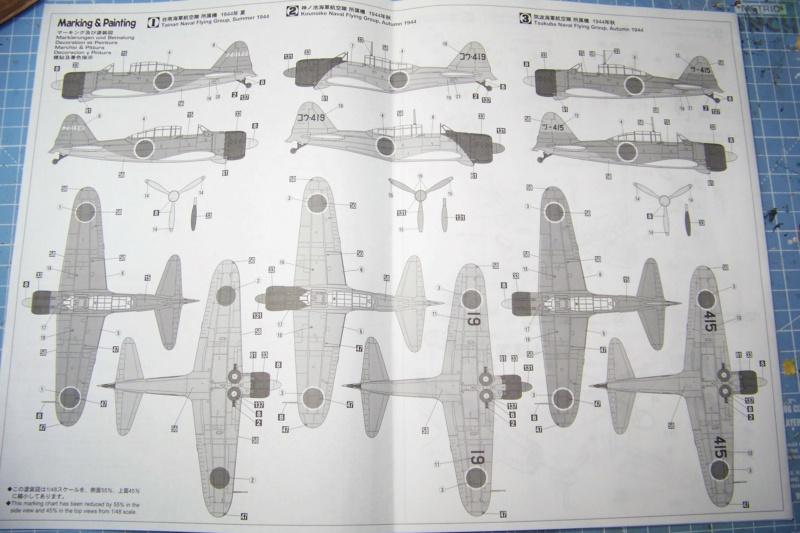 "A6M2-K Reisen  le ""Trainer"" de la Marine Impériale  1/48 Hasegawa Fini 100_8570"