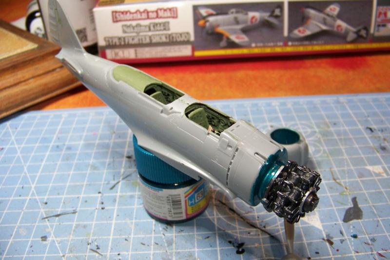 "A6M2-K Reisen  le ""Trainer"" de la Marine Impériale  1/48 Hasegawa Fini 100_8578"