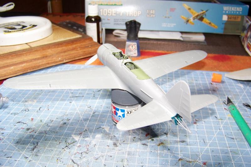 "A6M2-K Reisen  le ""Trainer"" de la Marine Impériale  1/48 Hasegawa Fini 100_8582"