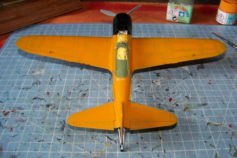 "A6M2-K Reisen  le ""Trainer"" de la Marine Impériale  1/48 Hasegawa Fini 100_8589"