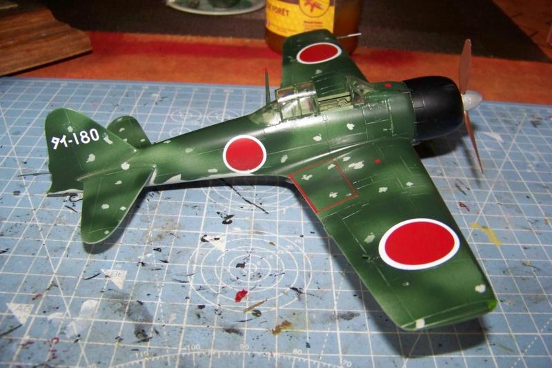 A6M3 Reisen type 32 Hamp ( ZERO) 1/48 Hasegawa Fini - Page 2 100_8595