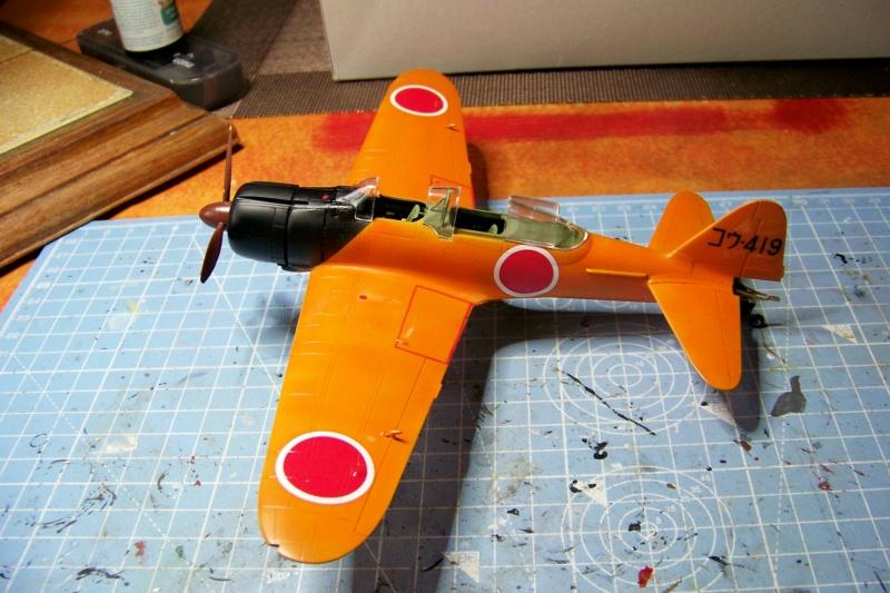 """A6M2-K Reisen  le """"Trainer"""" de la Marine Impériale  1/48 Hasegawa Fini - Page 2 100_8614"""