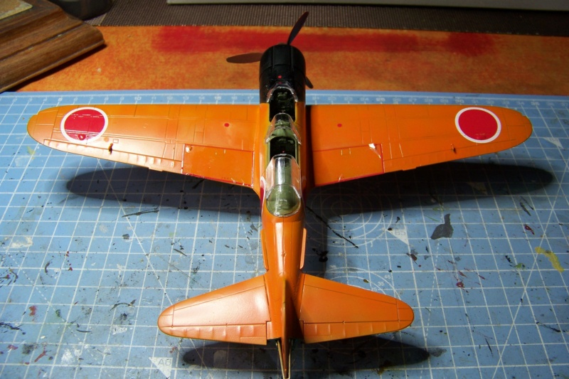 """A6M2-K Reisen  le """"Trainer"""" de la Marine Impériale  1/48 Hasegawa Fini - Page 2 100_8615"""