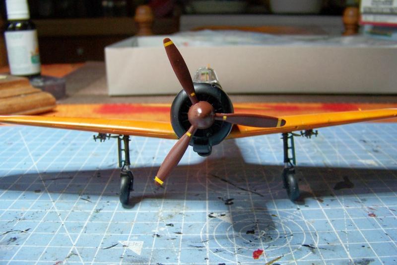 """A6M2-K Reisen  le """"Trainer"""" de la Marine Impériale  1/48 Hasegawa Fini - Page 2 100_8617"""