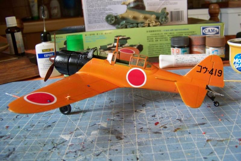 """A6M2-K Reisen  le """"Trainer"""" de la Marine Impériale  1/48 Hasegawa Fini - Page 3 100_8644"""