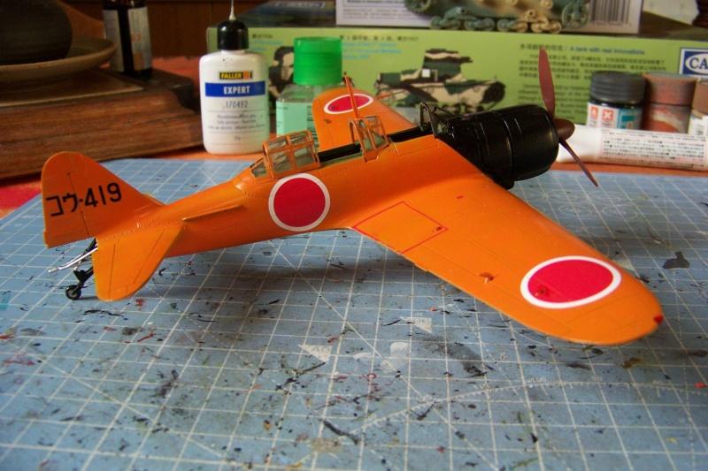 """A6M2-K Reisen  le """"Trainer"""" de la Marine Impériale  1/48 Hasegawa Fini - Page 3 100_8646"""
