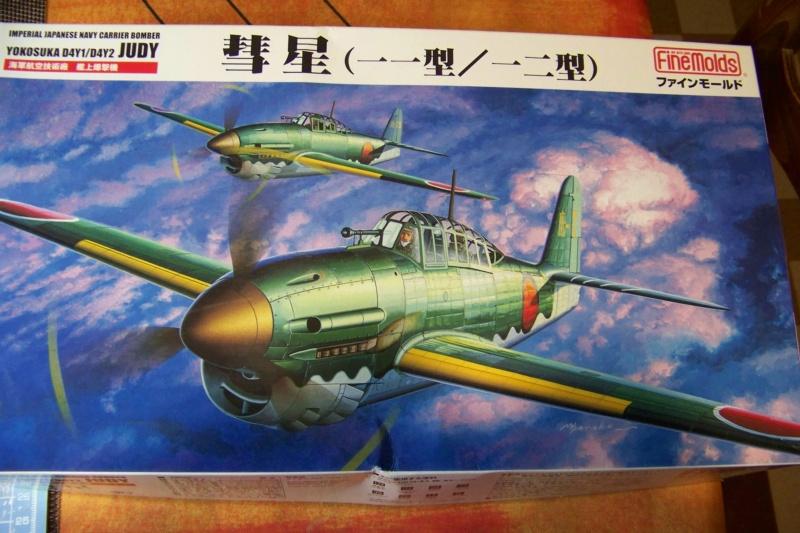 """Yokosuka D4Y1/2 Suisei  """"Judy """" Fine Model 1/48 100_8684"""