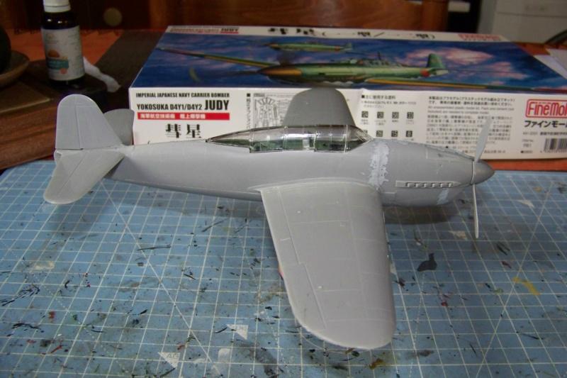 """Yokosuka D4Y1/2 Suisei  """"Judy """" Fine Model 1/48 - Page 2 100_8732"""