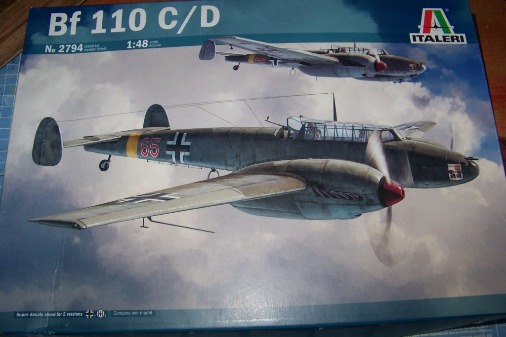 Fil rouge 2021 * Bf 110 Italeri ( Fujimi 1/48 ) 100_8860