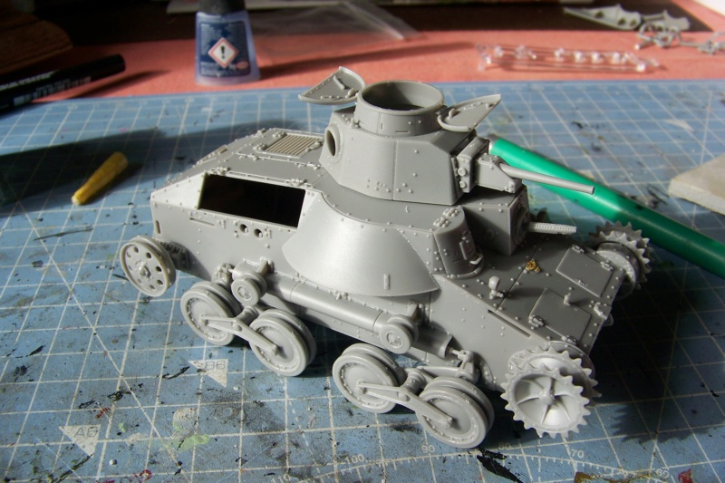 "Type 95 Ha-Go "" Royal Pologne"" Dragon 1/35 100_8935"
