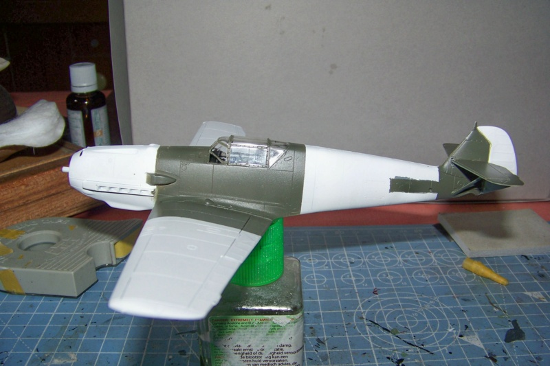 Bf.109E-3  Flugwaffe septembre 1944 ( Tamiya 1/48) 100_8948
