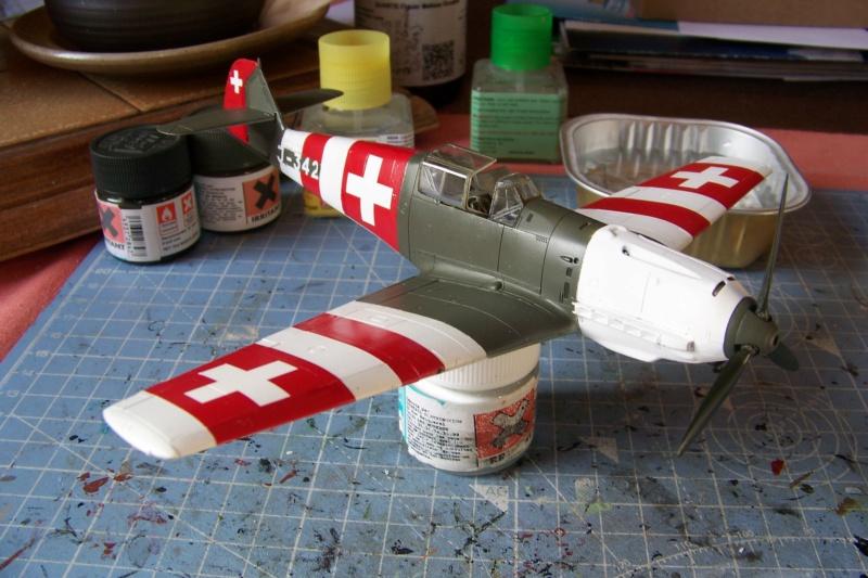 Bf.109E-3  Flugwaffe septembre 1944 ( Tamiya 1/48) - Page 2 100_8973