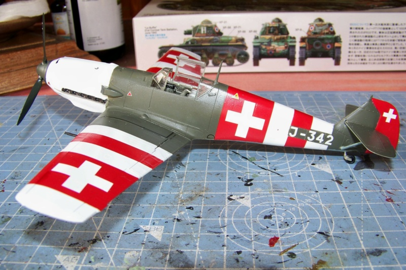 Bf.109E-3  Flugwaffe septembre 1944 ( Tamiya 1/48) - Page 3 100_8978