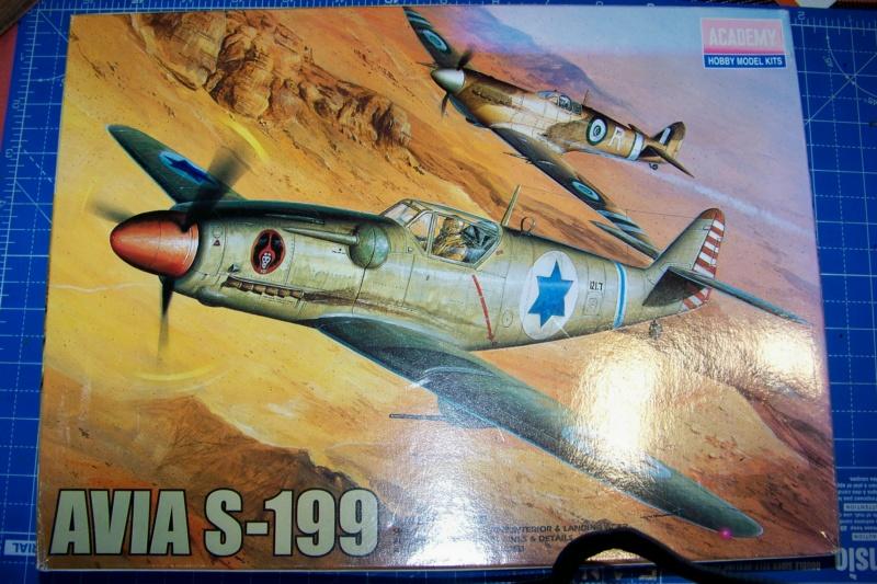 Avia S 199 Ezer Weizman 1948 ( Academy/Hobbycraft 1/48) סופית = FINI 100_8996