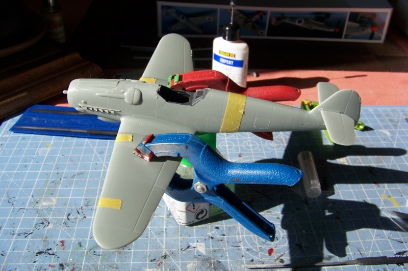 Avia S 199 Ezer Weizman 1948 ( Academy/Hobbycraft 1/48) סופית = FINI 100_9021