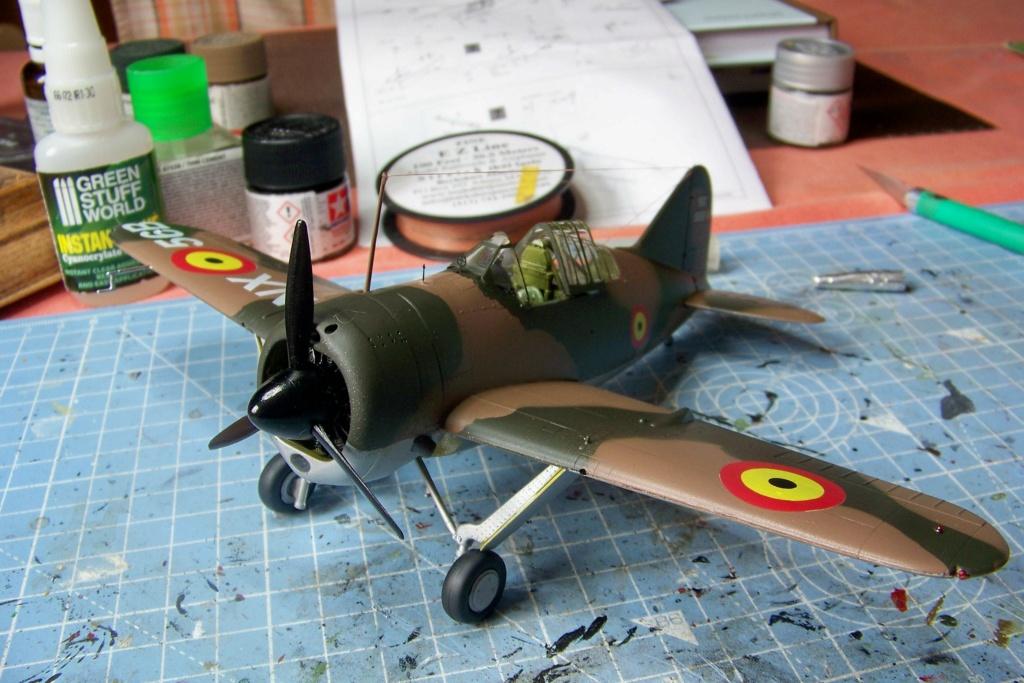 Brewster Buffalo B-339B ( Tamiya 1/48)FINI - Page 2 100_9106