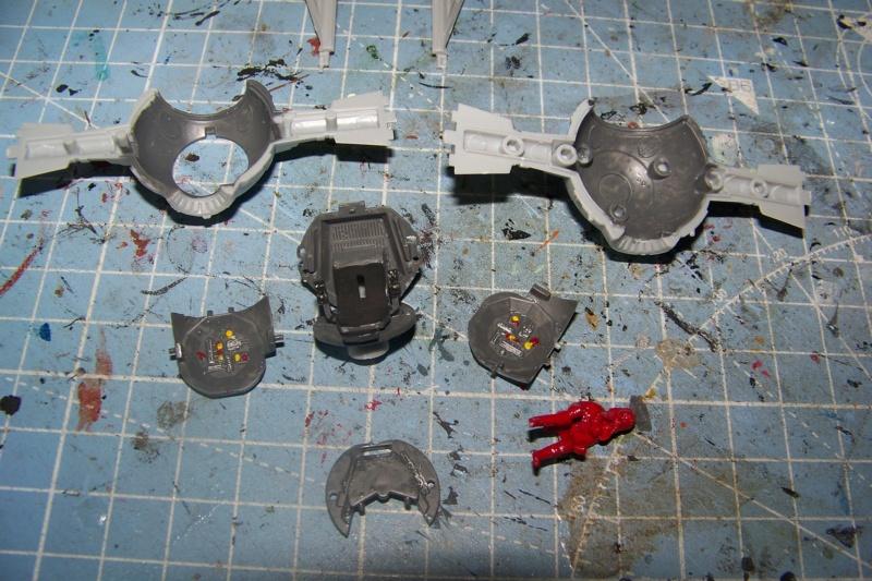 From the box - Intercepteur Tie ( Revell easy model 1/72) 100_9121