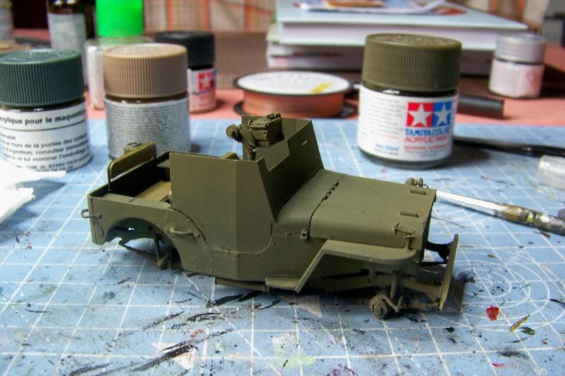 US Army 1/4 ton Armored Truck = Jeep Blindée ( Takom 1/35) 100_9200