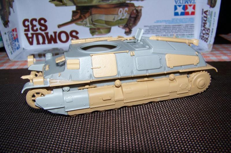 Somua S 40 ARL2C  (Tamiya / BMV 1/35 ) - Page 2 100_9247