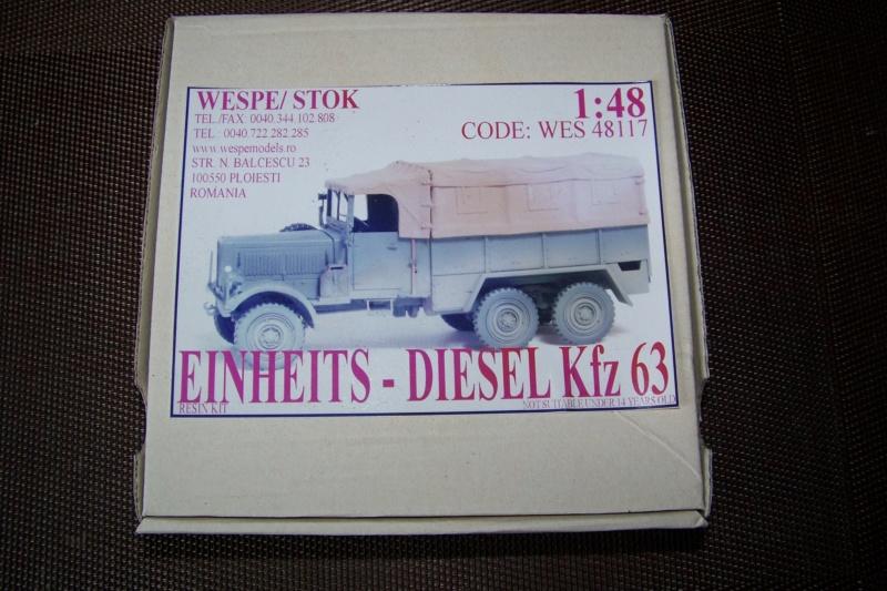 Einheist-Diesel KFZ 63 ( Wespe Model 1/48 ) 100_9278