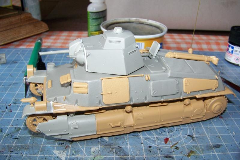 Somua S 40 ARL2C  (Tamiya / BMV 1/35 ) - Page 3 100_9357