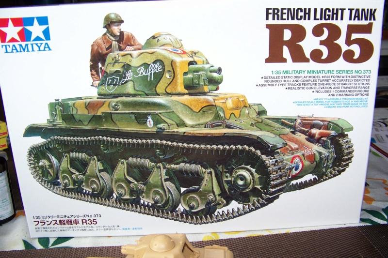 R-35 131 Regimento Carristi CII ( 2éme Compagnie) Tamiya 1/35 100_9487