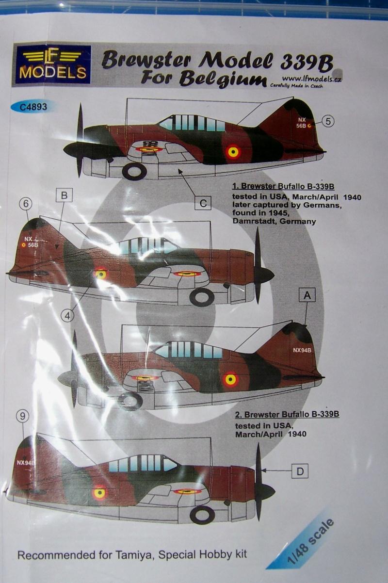 Brewster Buffalo B-339B ( Tamiya 1/48)FINI 100_9566