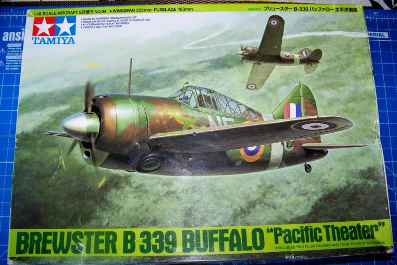Brewster Buffalo B-339B ( Tamiya 1/48)FINI 100_9568