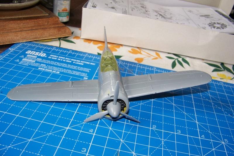Brewster Buffalo B-339B ( Tamiya 1/48)FINI 100_9574