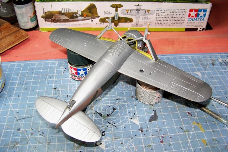 Brewster Buffalo B-339B ( Tamiya 1/48)FINI 100_9674