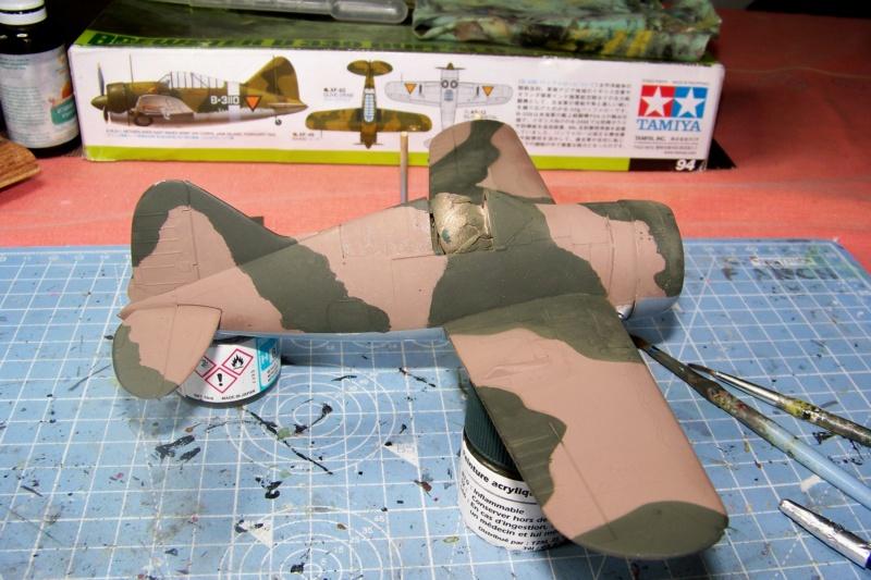 Brewster Buffalo B-339B ( Tamiya 1/48)FINI 100_9675