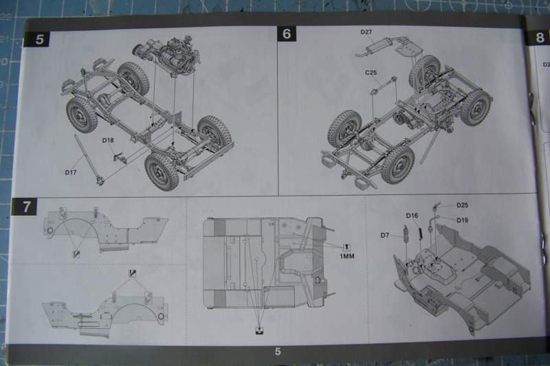 US Army 1/4 ton Armored Truck = Jeep Blindée ( Takom 1/35) 100_9684