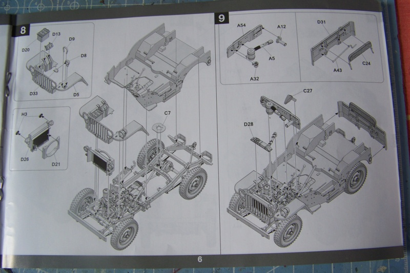 US Army 1/4 ton Armored Truck = Jeep Blindée ( Takom 1/35) 100_9685