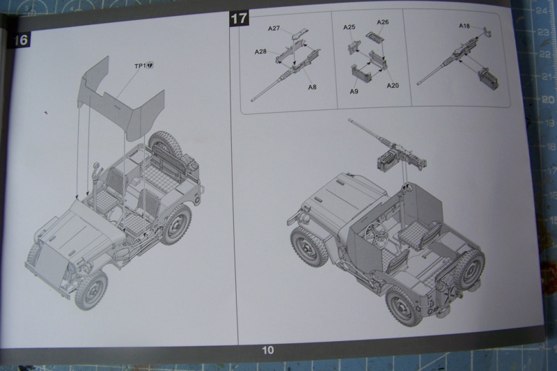 US Army 1/4 ton Armored Truck = Jeep Blindée ( Takom 1/35) 100_9686
