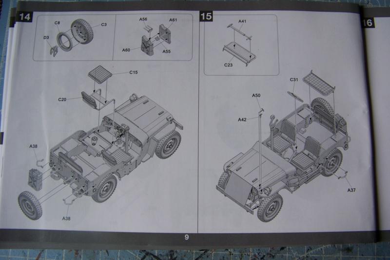 US Army 1/4 ton Armored Truck = Jeep Blindée ( Takom 1/35) 100_9687