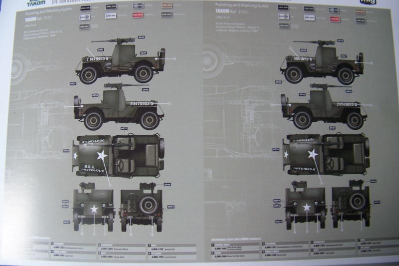 US Army 1/4 ton Armored Truck = Jeep Blindée ( Takom 1/35) 100_9688