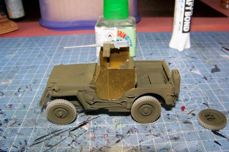 US Army 1/4 ton Armored Truck = Jeep Blindée ( Takom 1/35) 100_9690