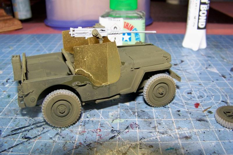US Army 1/4 ton Armored Truck = Jeep Blindée ( Takom 1/35) 100_9693