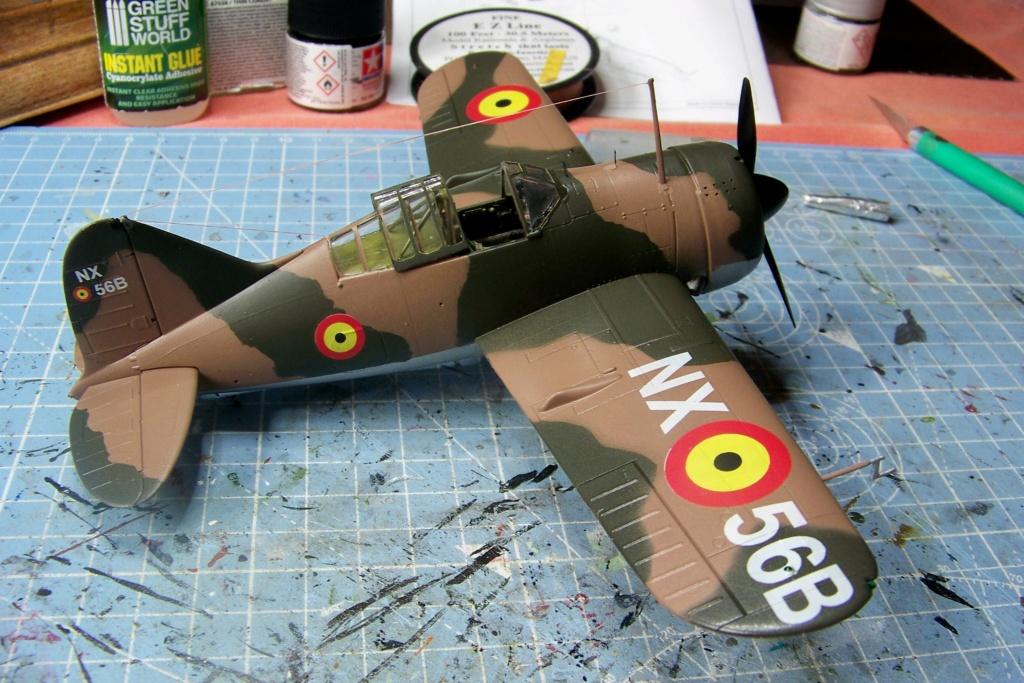 Brewster Buffalo B-339B ( Tamiya 1/48)FINI - Page 2 100_9699
