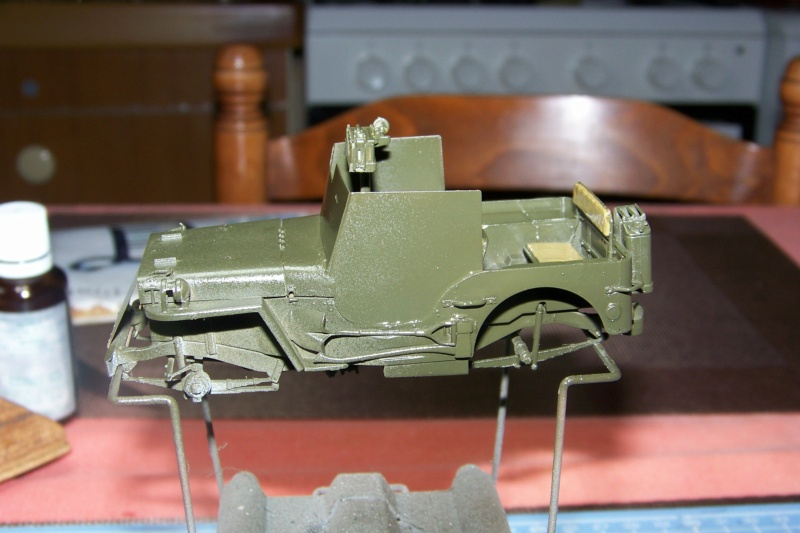US Army 1/4 ton Armored Truck = Jeep Blindée ( Takom 1/35) - Page 2 100_9714