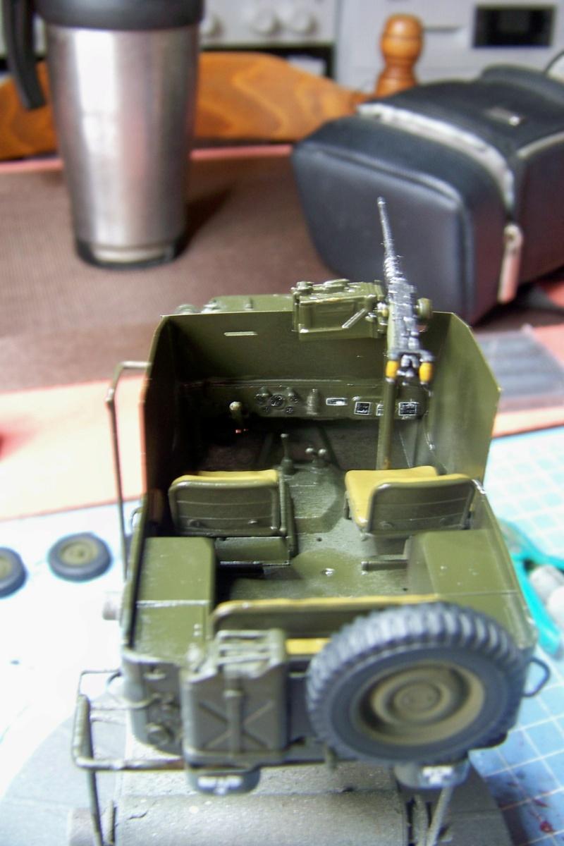US Army 1/4 ton Armored Truck = Jeep Blindée ( Takom 1/35) - Page 2 100_9722